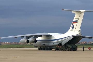 """Sau Italy và Mỹ, Nga tiếp tục gửi quân đội """"ra tay tương trợ"""" Serbia"""