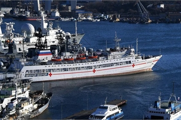 Nga vẫn chưa qua đỉnh dịch, Đại tướng Shoigu chỉ thị chuẩn bị bệnh viện nổi