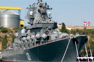 Soái hạm 'khủng' nhất Hạm đội Biển Đen