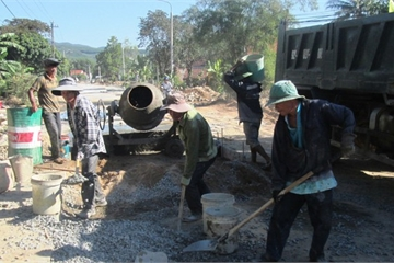 Quảng Nam: Hơn 2.500 dự án được đầu tư trực tiếp cho chương trình nông thôn mới