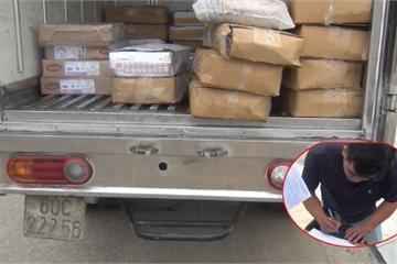 Quảng Nam: Phát hiện xe tải chở hơn 500kg thực phẩm đông lạnh không rõ nguồn gốc