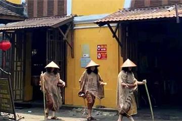Quảng Nam: Nhóm cải trang thành ăn xin ở Hội An khai gì tại cơ quan công an?