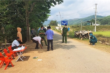 Quảng Nam: Điều tra vụ một đối tượng bất ngờ tát vào mặt thành viên tổ kiểm soát y tế