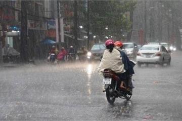 Tin mưa lớn mới nhất và dự báo thời tiết đêm nay, ngày mai 12/9
