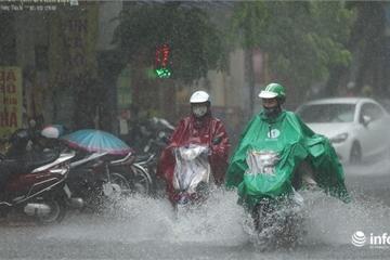 Tin mưa lớn mới nhất và dự báo thời tiết Hà Nội 2 ngày cuối tuần