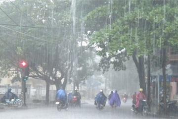 Tin mưa lớn mới nhất và dự báo thời tiết đêm nay, ngày mai 10/10