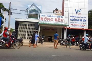Nóng: Kẻ gian cạy cửa sắt, đột nhập tiệm vàng lấy 7 tỷ ở Bình Thuận