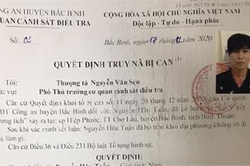 Bình Thuận: Truy nã bị can Nguyễn Hữu Tuấn, đối tượng gây nguy hiểm cho xã hội