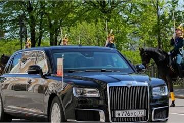 Xem siêu xe của ông Putin kiêu hãnh lăn bánh