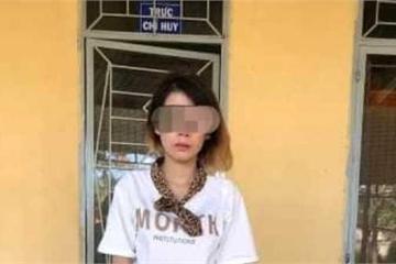 """""""Kiều nữ"""" bán ma túy bị bắt vì trốn thi hành án"""