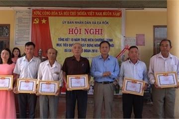 Đắk Lắk: Xã Ea Rốk vượt khó trên chặng đường xây dựng nông thôn mới