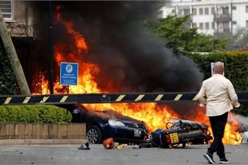 Khủng bố đẫm máu ở khách sạn thủ đô Kenya, 11 người thiệt mạng
