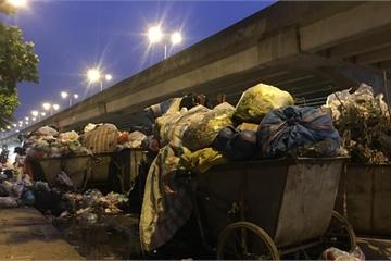 Dân Sóc Sơn chặn xe rác, Hà Nội chuyển rác về Sơn Tây, Ba Vì xử lý