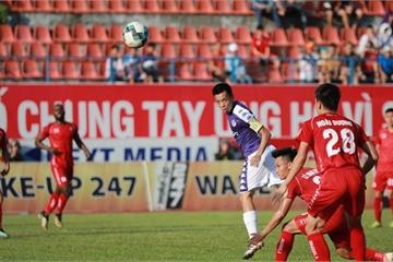 Hà Nội lấy lại ngôi đầu bảng sau khi đánh bại Hải Phòng trên sân Lạch Tray