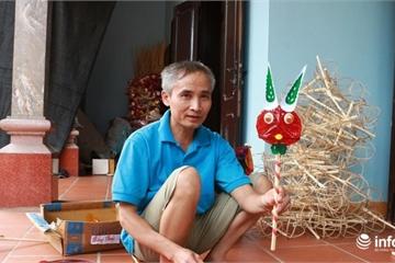 Gia đình lão nông ở Hà Nội gần 50 năm gắn bó với những chiếc đèn cù