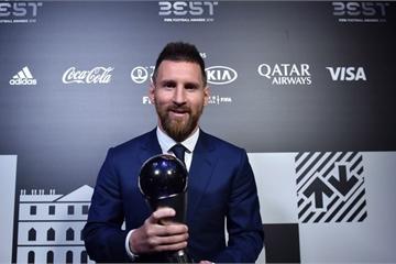 Đánh bại Van Dijk và Ronaldo, Lionel Messi chiến thắng tại giải The Best của FIFA