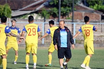 Loại Tuấn Anh và Trọng Hùng, thầy Park chốt danh sách 23 cầu thủ trận gặp Indonesia