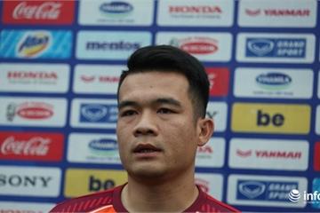 Hoàng Thịnh tự tin sẽ có suất chính thức ở tuyển Việt Nam
