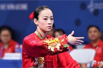 Wushu mang về tấm huy chương đầu tiên cho đoàn Việt Nam tại SEA Games 30