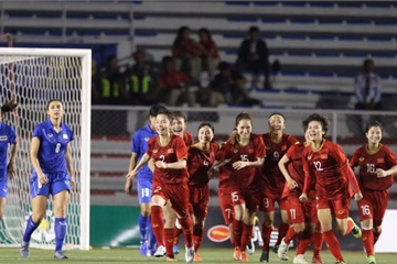 Sau SEA Games 30, tuyển nữ Việt Nam vươn lên vị trí thứ 32 thế giới