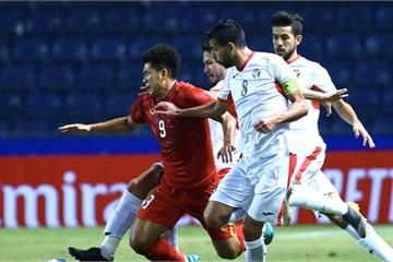 Hòa 0-0 trước U23 Jordan, thầy trò HLV Park Hang Seo mất quyền tự quyết