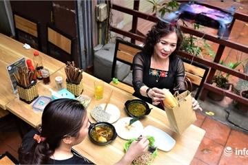 """Độc đáo nhà hàng dùng """"camera bay"""" đưa đồ ăn phục vụ khách"""