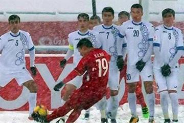 """Quang Hải được AFC vinh danh  với siêu phẩm """"cầu vồng tuyết"""""""