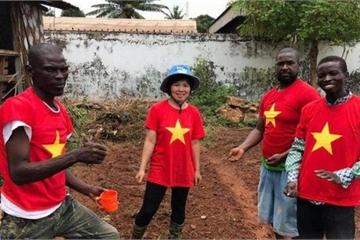 Nữ sĩ quan mũ nồi xanh: Trở thành nông dân ở lục địa đen