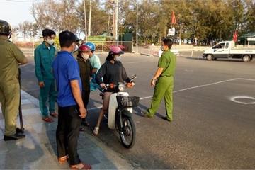 Bình Thuận lập chốt, phạt không đeo khẩu trang 200 nghìn đồng
