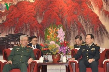 Thứ trưởng Nguyễn Chí Vịnh gặp Bộ trưởng Quốc phòng Trung Quốc