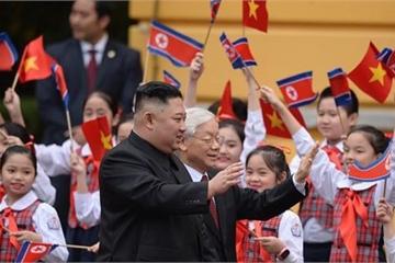 Hình ảnh Lễ đón chính thức Chủ tịch Kim Jong-un