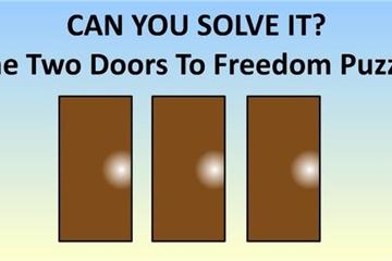 Thử thách khả năng logic qua câu đố 'tìm cánh cửa dẫn đến tự do'