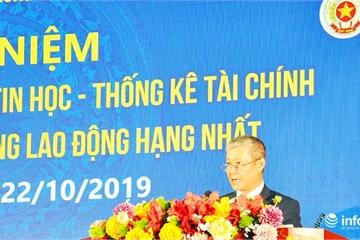 Thứ trưởng Nguyễn Thành Hưng: 'Ngành Tài chính luôn đi đầu trong ứng dụng CNTT'