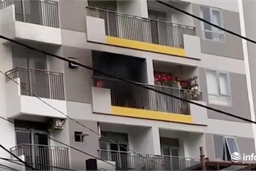 TP.HCM: Cháy chung cư Opal Garden, cư dân nháo nhào tháo chạy