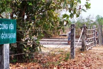 Dự án Công viên Sài Gòn Safari: Chi phí đền bù tăng 105 tỷ đồng, ai chịu trách nhiệm?