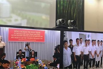 Phó Chủ tịch nước Đặng Thị Ngọc Thịnh làm việc với Bệnh viện Quân y 175