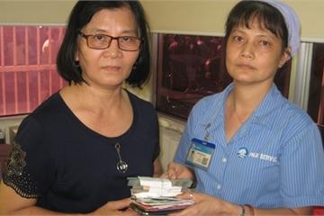 Nhân viên Bệnh viện Chợ Rẫy trả lại hơn 100 triệu đồng khách bỏ quên