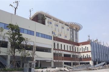 Tháng 12/2019 đưa vào hoạt động, Bệnh viện Ung bướu TPHCM cơ sở 2 vẫn ngổn ngang
