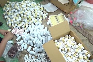 TPHCM: Thu giữ 3 tấn thực phẩm chức năng không đạt tiêu chuẩn