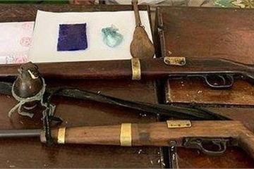 Nghẹt thở cuộc vây bắt đối tượng mang ma túy có súng, 1 Trung úy bị thương