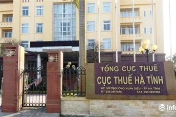 Công khai doanh nghiệp nợ thuế ở Hà Tĩnh: Các công ty xây dựng xếp hàng dài