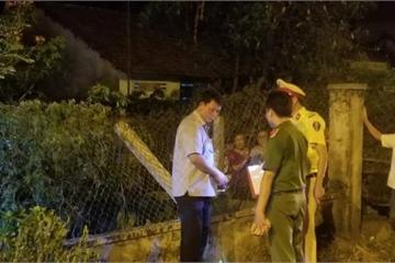Hé lộ nguyên nhân vụ thanh niên bay qua hàng rào 2m chết trong vườn nhà dân