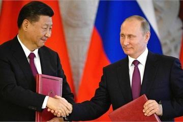 """Lý do Liên minh Nga -Trung Quốc là """"cơn ác mộng"""" đối với Mỹ?"""