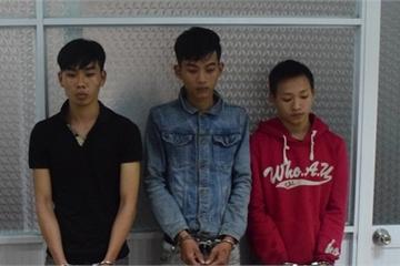Huế: Bắt 3 thanh niên trộm tài sản người nước ngoài mang vào Đà Nẵng tiêu thụ