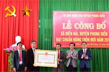 Huế: Công nhận Điền Hải đạt chuẩn nông thôn mới