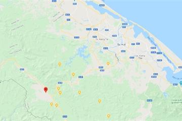 Huế: Động đất mạnh 2,4 độ richter ở huyện A Lưới, độ sâu chấn tiêu khoảng 8km