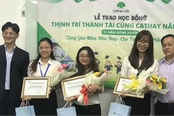 """34 sinh viên được nhận học bổng toàn phần """"Thịnh Trí Thành Tài"""""""