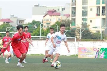Giải bóng đá học sinh Hà Nội: Bền bỉ để thành công