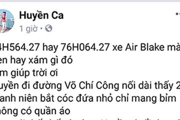 Đà Nẵng: Không có dấu hiệu về vụ bắt cóc trẻ em ở quận Cẩm Lệ như tin đồn