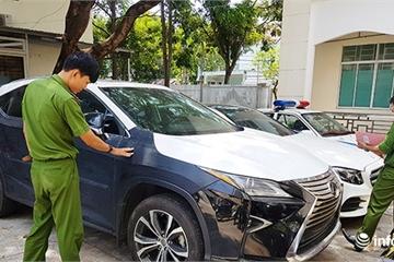 Từ Đà Nẵng ra Hà Nội bắt bọn trộm xe sang Lexus RX 350